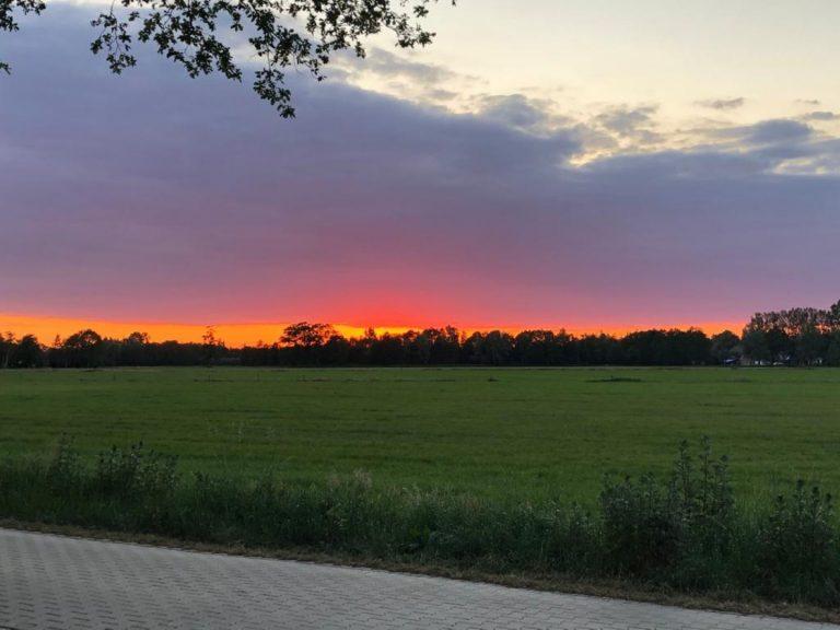 Zonsondergang Pinksteren (Large)